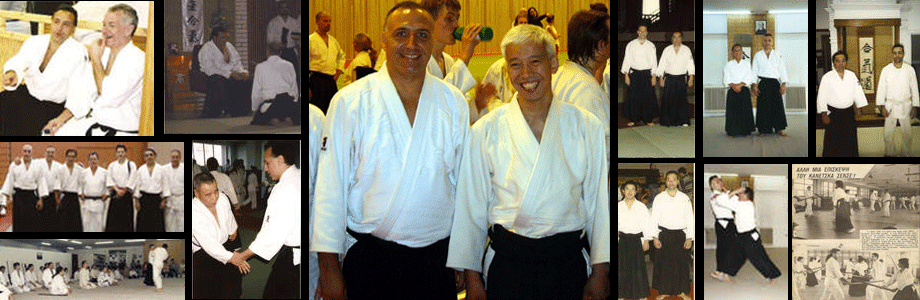 Fukushinkan Dojo's Sensei with Doshu